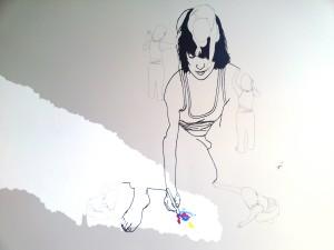 Mending Drawing